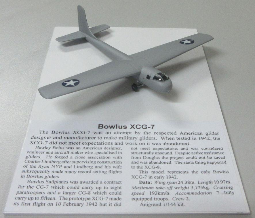Bowlus XCG-7 a