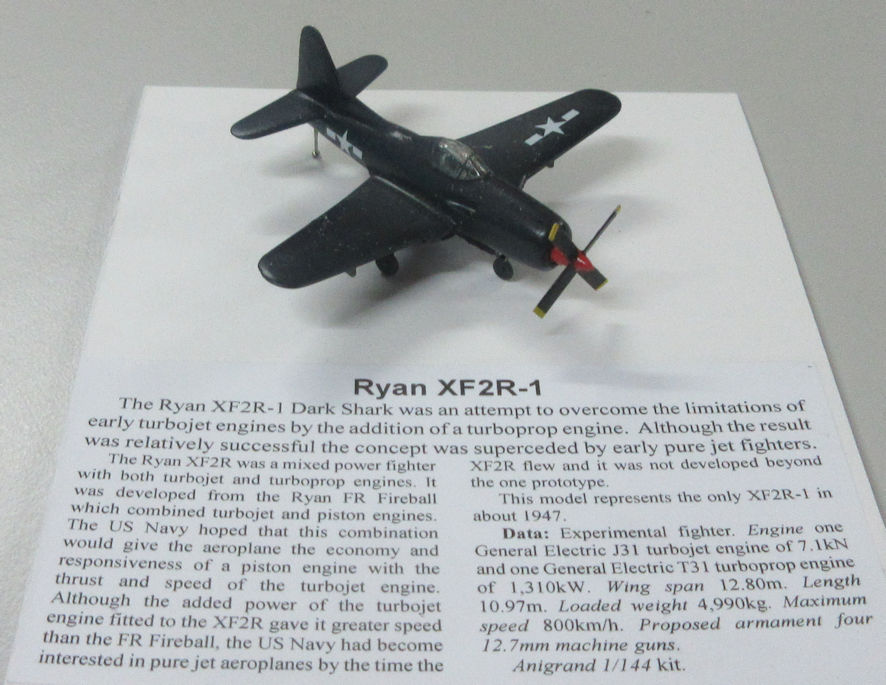 Ryan XF2R-1 a
