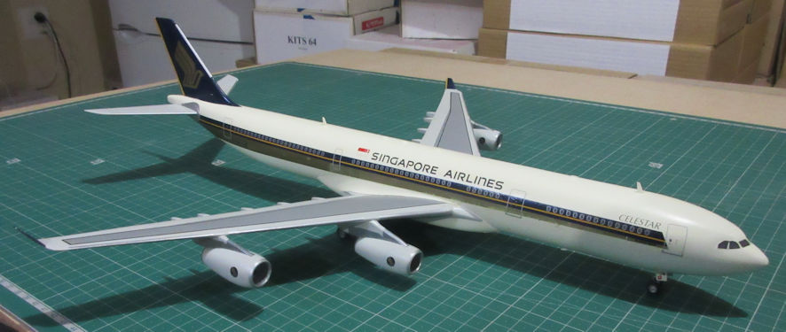 Airbus A340-300 - Revell 144