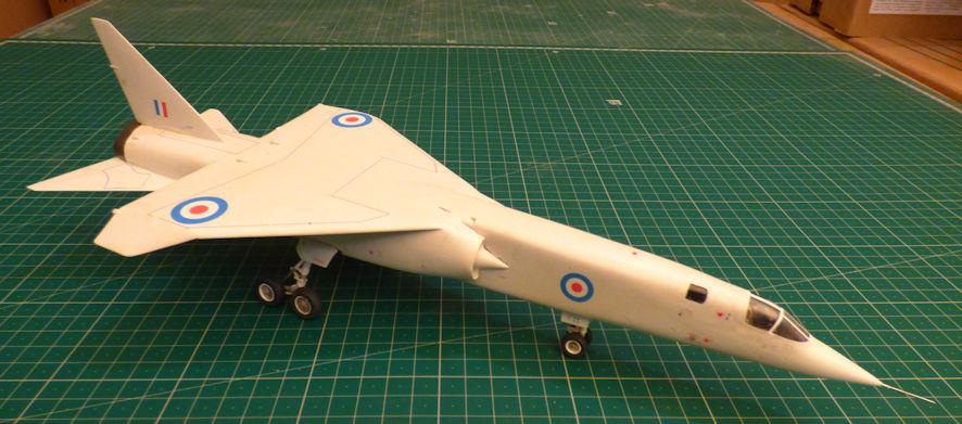 BAC TSR2 - Airfix 72