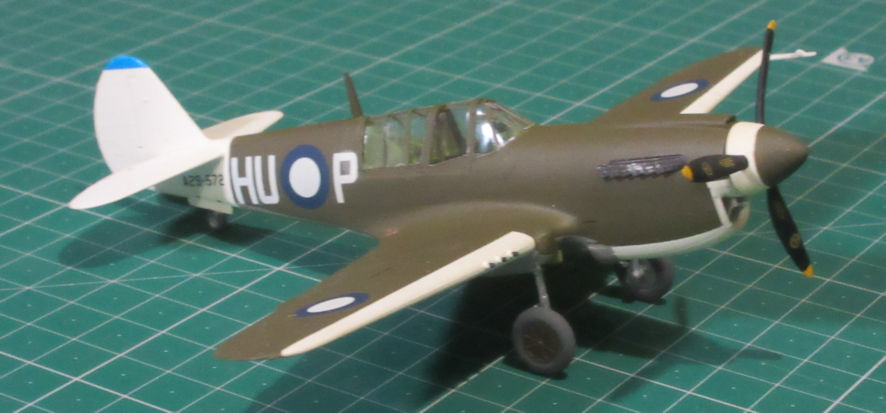 Curtiss P-40N - Hobby Boss 72