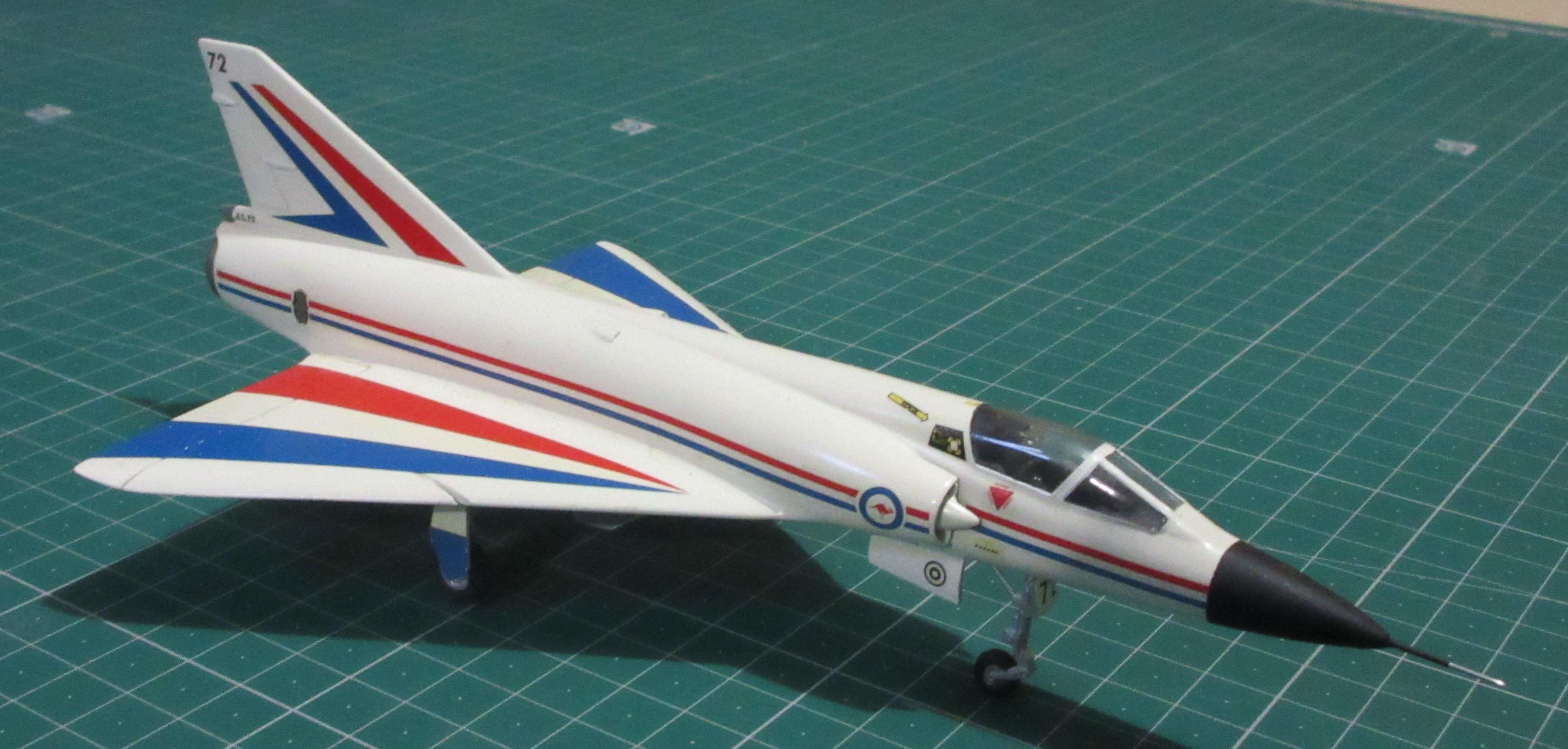 Dassault Mirage IIIO A3-72 - Frog 72