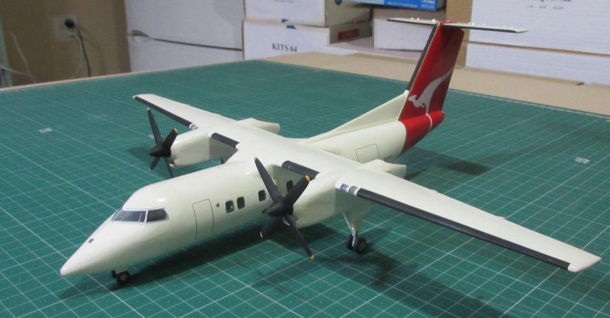 De Havilland Canada Dash-8-100 - Hobbycraft 72