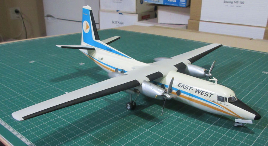 Fokker F-27 - East West - Esci 72