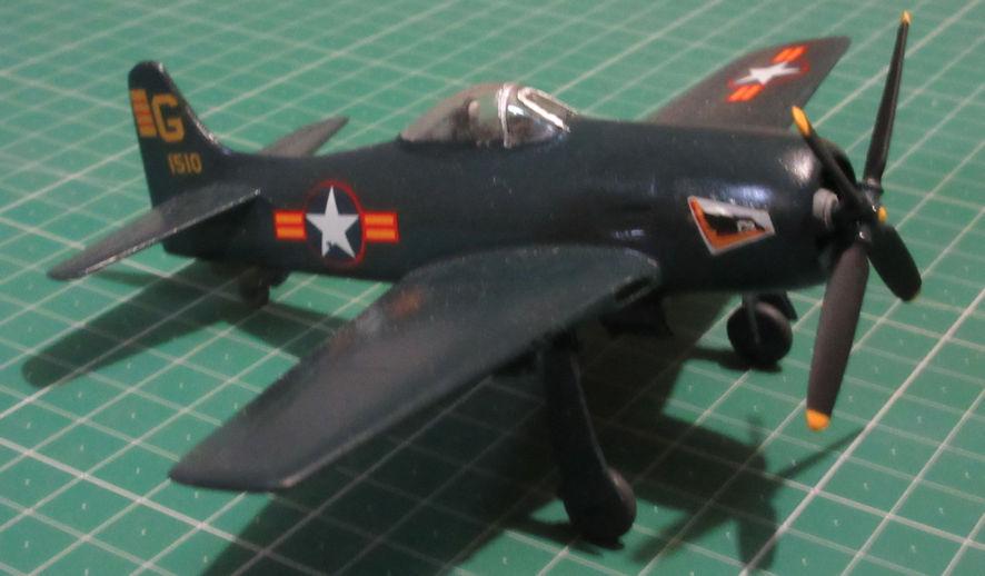 Grumman F8F-1 - Monogram 72