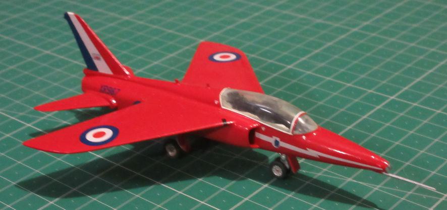 Hawker Siddeley Gnat T1 - Airfix 72