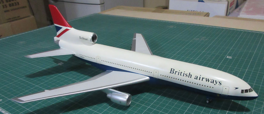Lockheed L-1011 - Airfix 144