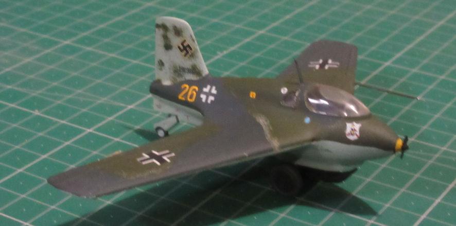Messerchmitt Me163B - Academy 72
