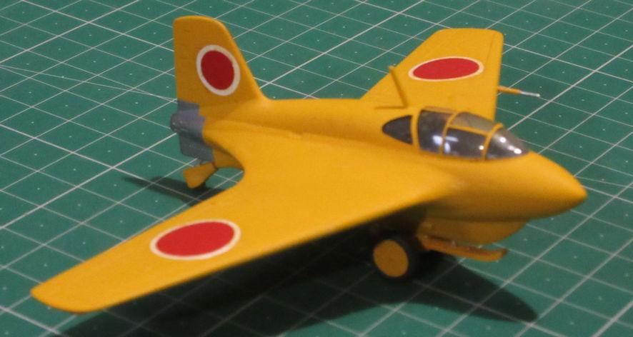 Mitsubishi J8M1 - Hasegawa 72