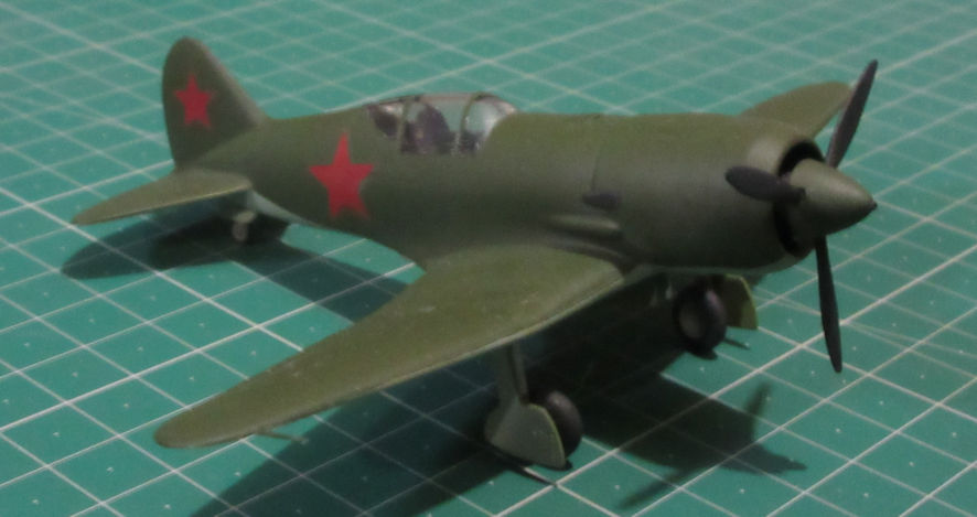 Polikarpov I-185 - Modelist 72