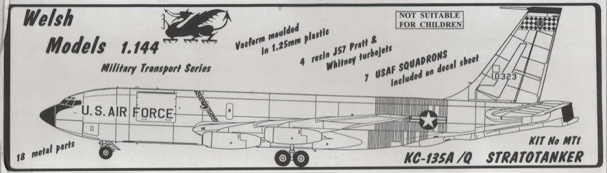 KC-135A box art