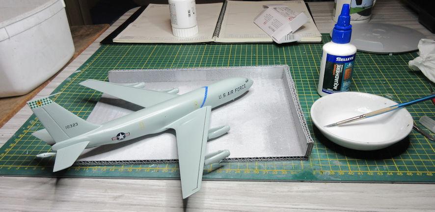 KC-135A gluepot