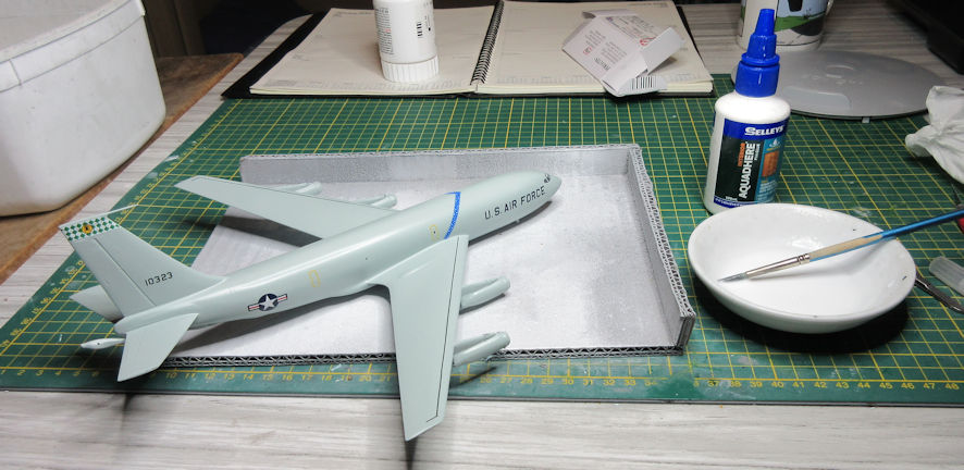 KC-135A gluepot